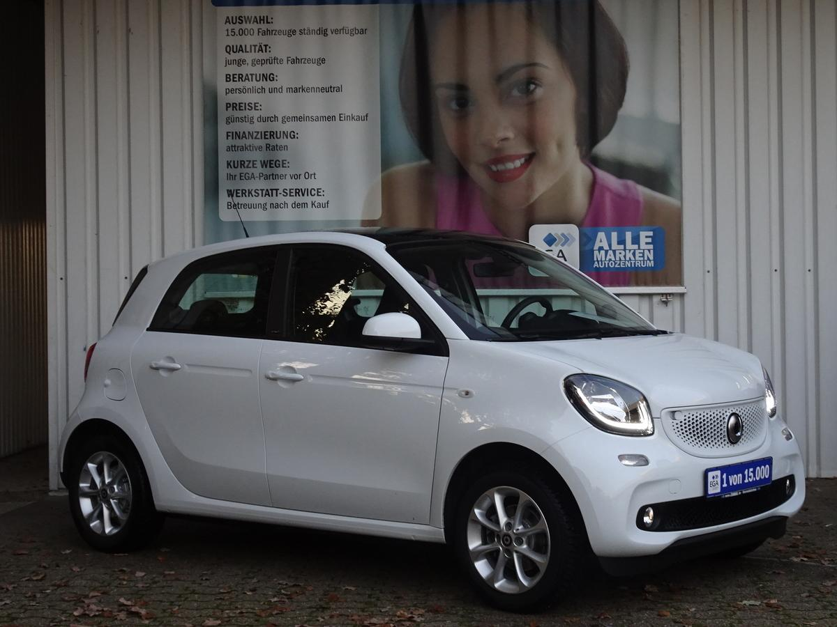 Smart ForFour  12 TKM! PANORAMADACH*SHZ*KOMF PKT*ALLWETTER* TEMPO